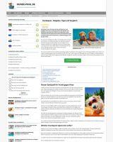 hunde-pool.de - Tipps und Spielspaß für Hunde im Sommer