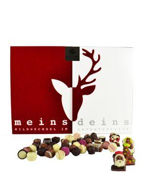 Meins & Deins Pärchenkalender - Pralinothek.de