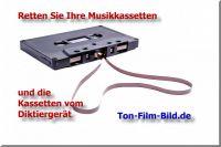 Retten Sie Ihre Tonbänder, Musikkassetten und Schallplatten auf CD und USB-Stick !
