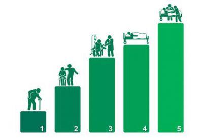 Einteilung in 5 Pflegegrade. Vorsorge mit der privaten Pflegeversicherung der Allianz Jens Schmidt in Bremen Tel. 0421-83673100
