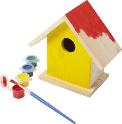 Beschäftigung für Kinder: Vogelhäuschen gestalten und anschließend beobachten