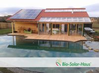 Holzhaus als Fertighaus (Foto: Bio-Solar-Haus GmbH)