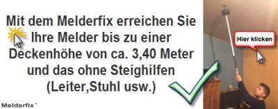 Melderfix-Installations und Wartungsgerät
