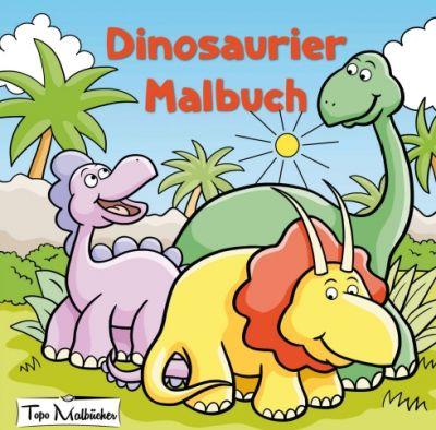 """""""Dinosaurier Malbuch"""" von Topo Malbücher"""