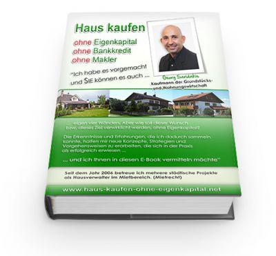 Cover des Buches - Haus kaufen ohne Eigenkapital