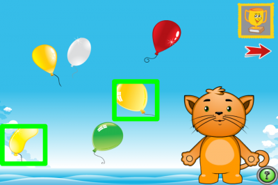 Kindergarten Kitty ist die Nummer 1 App in Deutschland in der Kategorie Spiele / Bildung.