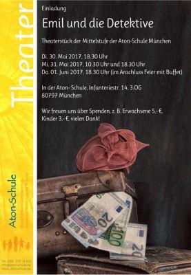 DIE Gelegenheit, die erste musisch-kreative Schule Münchens kennenzulernen!