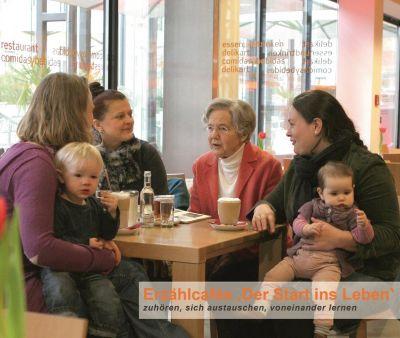Erzählcafés verbinden Generationen