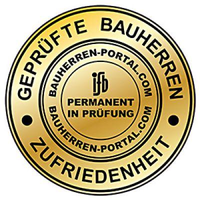 Das Gütesiegel des ifb Institut für Bauherrenbefragungen GmbH