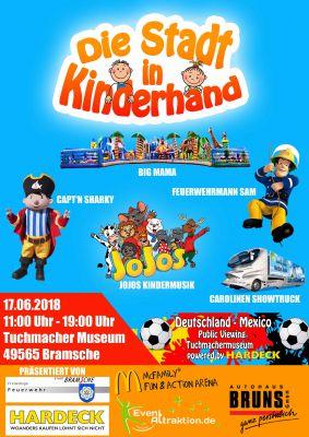 """Das Highlight im Norden von Deutschland """"Die Stadt in Kinderhand"""""""