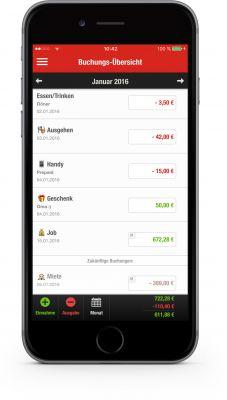Mit dem ab sofort verfügbaren Update der Finanzchecker-App wird sie noch bequemer nutzbar