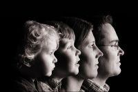 Mit der Familie im Fotostudio für besondere Collagen der ganzen Familie