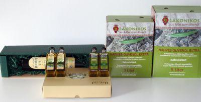 Die Olivenöl-Produkte von Lakonikos aus Hofheim bei Frankfurt
