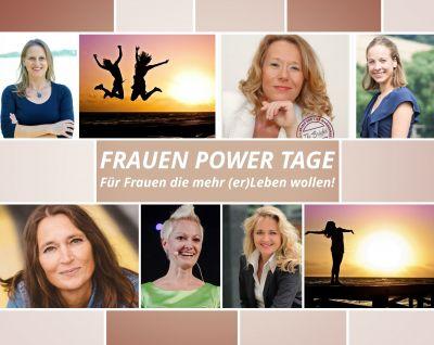 Die Speakerinnen von oben links, Nicole Rupp, Martina Hautau, Anabell Schuchhardt, Deniz Selek, Melanie Mittermeier, Heike Holz