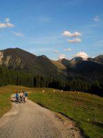 Zum Schuljahresbeginn auf Bergtour