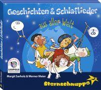 Doppel-CD Geschichten & Schlaflieder aus aller Welt aus dem Sternschnuppe Kinderlieder-Verlag