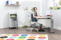 Gut für Kids: Schreibtisch Winner und Drehstuhl Scooter von moll