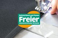 Bei der Autosattlerei Freier in Rain bei Straubing entstehen zum Beispiel neue Cabrioverdecke.