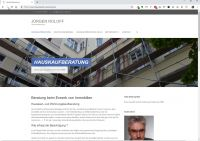 Hauskaufberatung Berlin, Dipl.-Ing. Architekt Jürgen Roloff