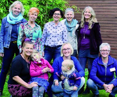 Vorstand und Mitfrauen von Hebammen für Deutschland