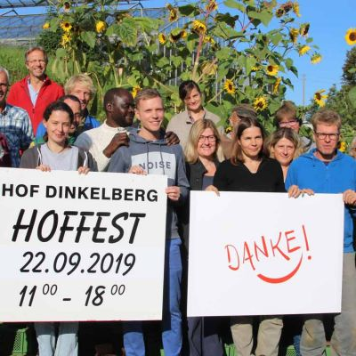 "Hof Dinkelberg sucht Bewerber für den Publikumspreis ""Danke 2019"""