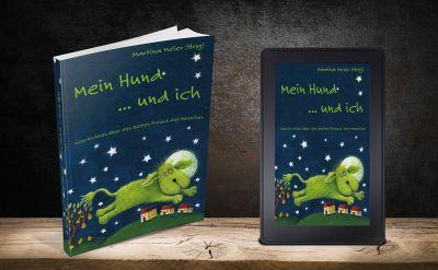 """520 Seiten umfasst das Buch """"Mein Hund ... und ich"""" - mehr als 100 AutorInnen haben an dem Buch mitgeschrieben."""