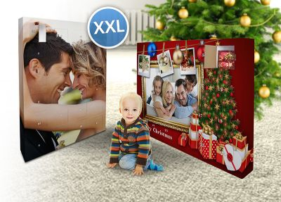 XXL Foto-Adventskalender mit eigenem Bild