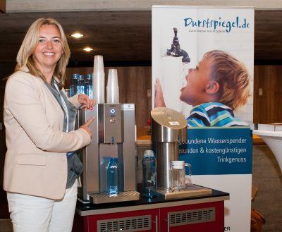 Petra von Borstel, Projektleiterin der Initiative Durstspiegel