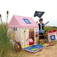 Pirat Kinderspielhaus aus Stoff, von Win Green