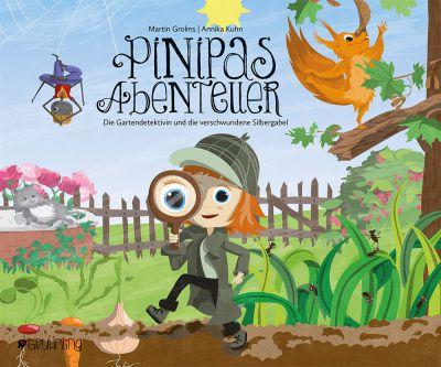 Diesmal trifft die kleine Heldin Pinipa Gartenbewohner, die ihr Lustiges und Lehrreiches berichten.