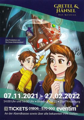 Six Crown Entertainment - Gretel und Hänsel Musical