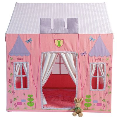 Kinderspielhaus Prinzessin aus Stoff von Win Green