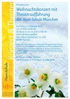 Weihnachtskonzert mit Theateraufführung in München: Die Legende von der Christrose