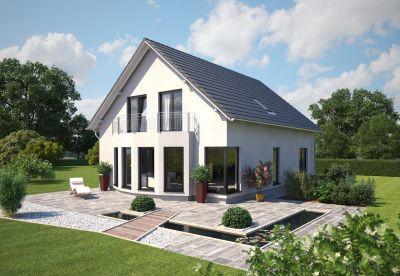 Auch kompakte Häuser können sich für das Wohnen zweier Generationen unter einem Dach eignen. (Foto: Hanlo)