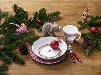 DeinKindergeschirr Geschirr-Set Weihnachten