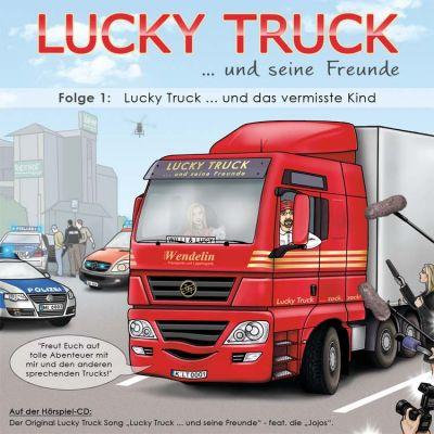 """CD-Cover """"Lucky Truck und seine Freunde"""""""