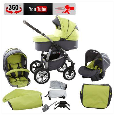 Der Macano S Kinderwagen überzeugt durch ausgefallene Designs, wundervolle Stoffe und technisches Know How!!!