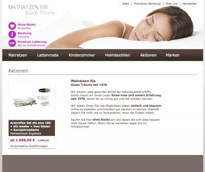 Matratzen Eis Onlineshop