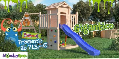 MONSTERSPASS Spieltürme: Riesenauswahl zum Mega Preis