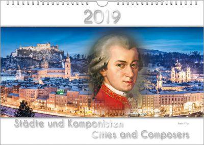 Ein Komponisten-Kalender ist ein cooles Musikgeschenk.