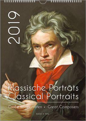 Musik-Kalender: Damit will Peter Bach jr. Musik-Fans begeistern. Und Komponisten-Kalender sind gleichzeitig auch Musik-Kalender.
