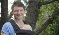 Florian Fries, Pianist und Entwickler des Baby-Einschlaf-Wunders mit seinem Sohn