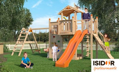 ISIDOR Holzbau - Ihr Spezialist für Spieltürme und Stelzenhäuser