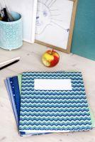 Plastikfrei und schön - Schulheftumschläge aus 100% Recyclingkarton