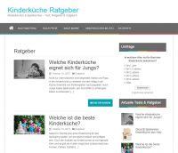 Webseite kinderkueche-ratgeber.de