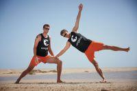 congstar Beachteam: Jan Romund und Paul Becker