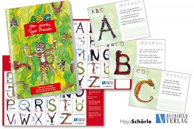 Lesen und schreiben lernen mit Tierzeichnungen mit Versen und Geschichten