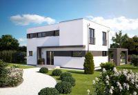 Problemlos können Wünsche der Bauherren bei der Realisierung eines modernen Fertighauses berücksichtigt werden. (Foto: Hanlo Haus)