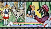 Rotkäppchen und der böse Wolf - kurzes Video aus Bildern von einem DEFA Color-Bildband