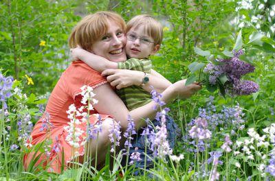 Gesundes Kind, glückliche Mutter. Bio-Mode macht nicht nur ein gutes Gewissen. Foto: Ralf Nattermann